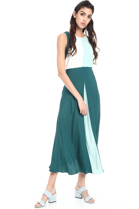 Long silk blend dress Intrend