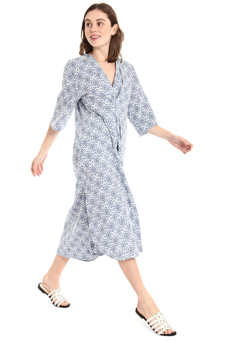 Oversized printed dress Intrend