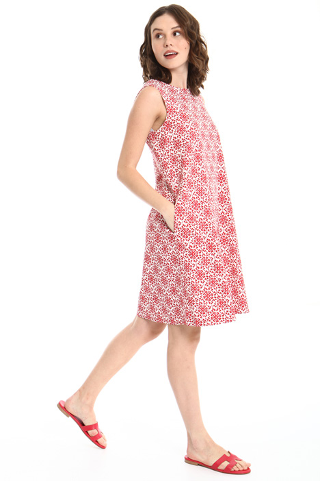 Woven cotton dress Intrend