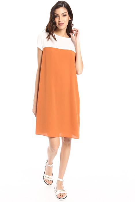 Colour block boxy dress Intrend