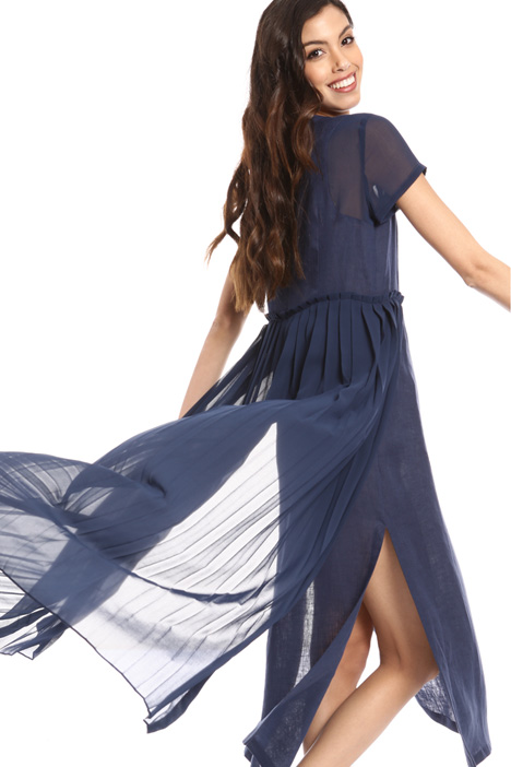 Pleated side dress Intrend