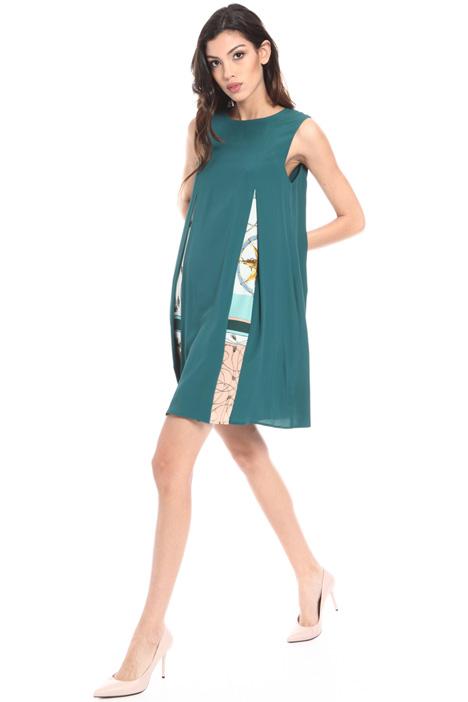 Layered silk blend dress Intrend