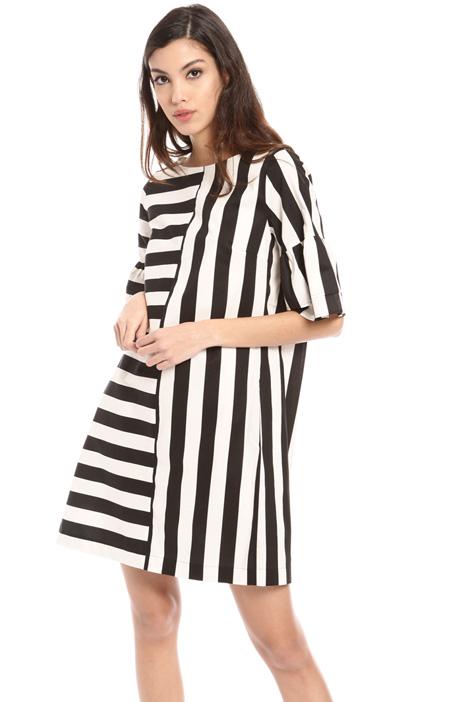 Striped cotton dress Intrend