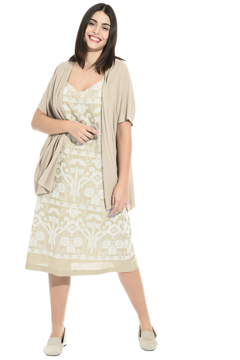 Embroidered linen dress Intrend