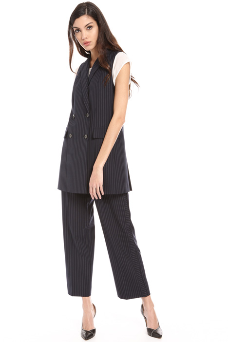 Pinstriped vest Intrend