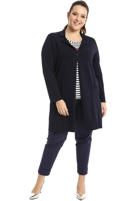 Cotton and viscose cardigan Intrend