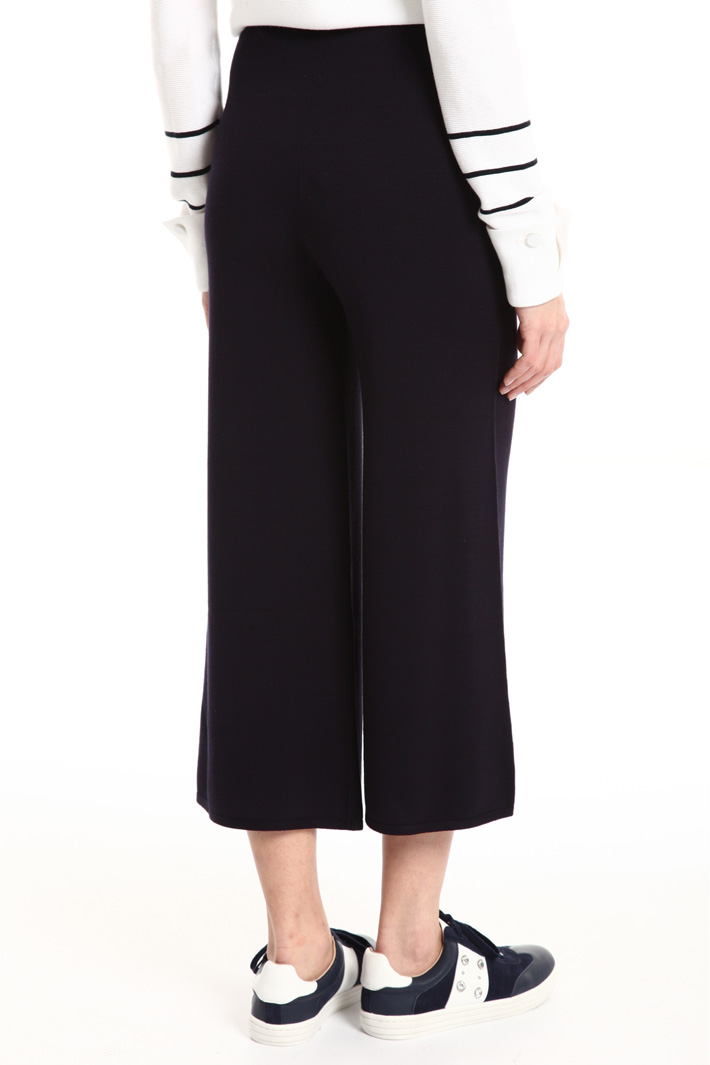 Knit viscose trousers Intrend