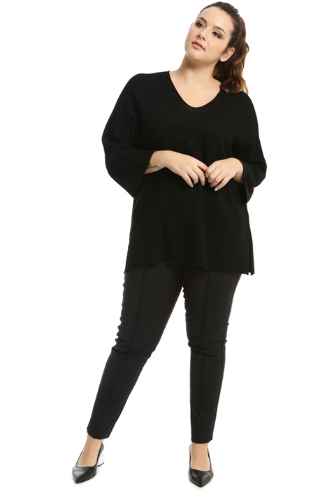 Cotton and lurex sweater Intrend