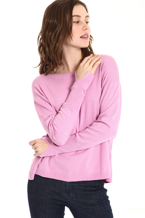 Viscose knit sweater Intrend