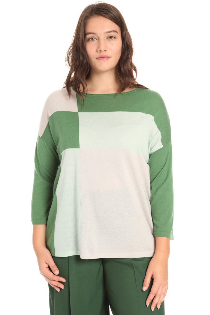 Boxy wool sweater Intrend