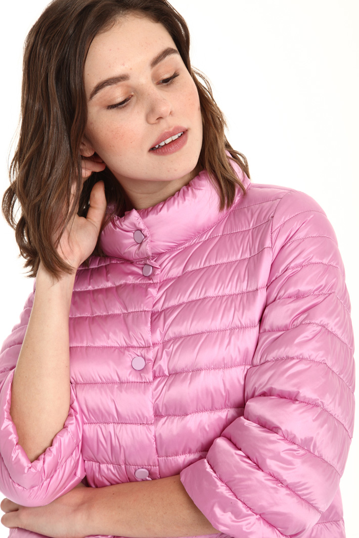 High neck down jacket Intrend