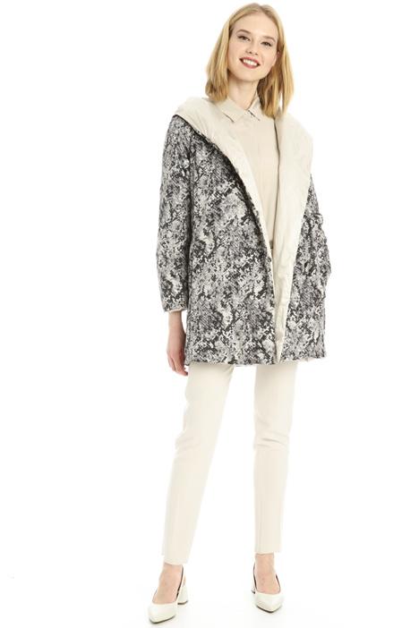 Reversible hooded jacket Intrend