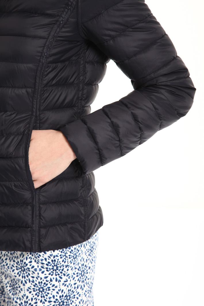 Fancy print puff jacket Intrend