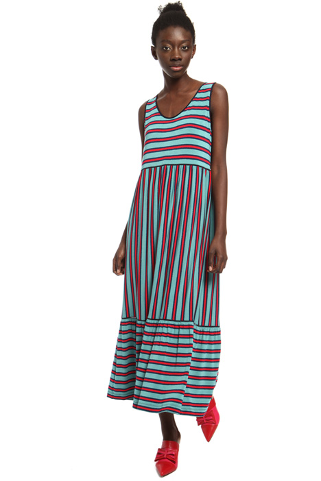Long striped dress Intrend