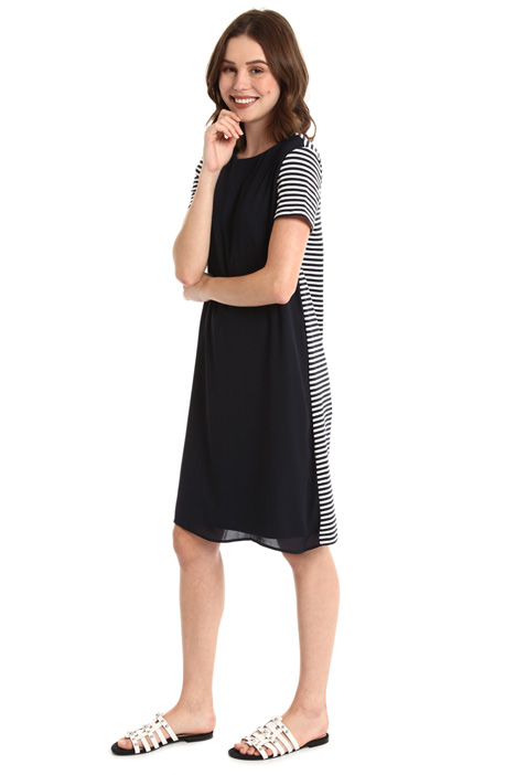 Crepe cotton dress Intrend