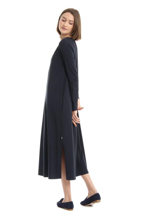 Pure cotton slit dress Intrend