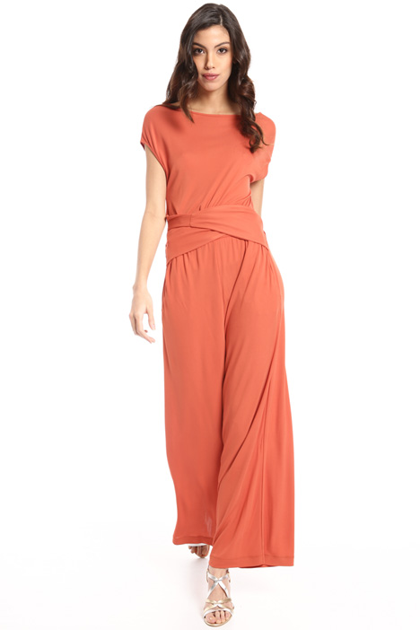 Crepe jersey jumpsuit Intrend