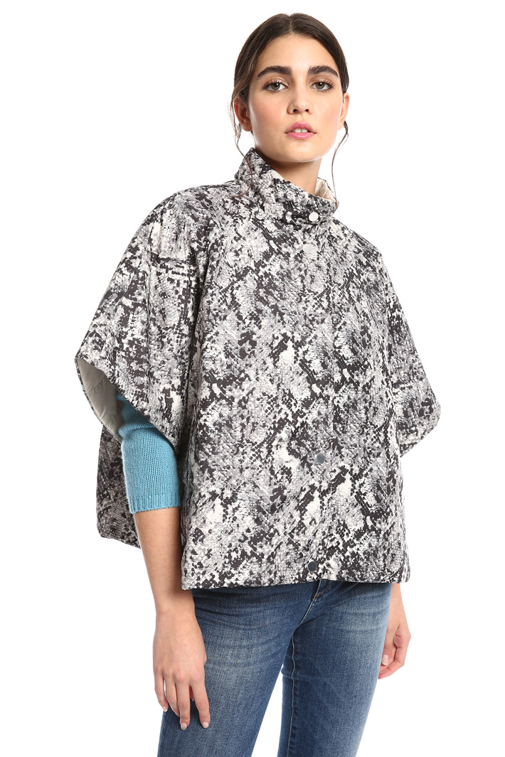 Padded cape Intrend