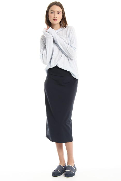 Pure cotton sheath skirt Intrend