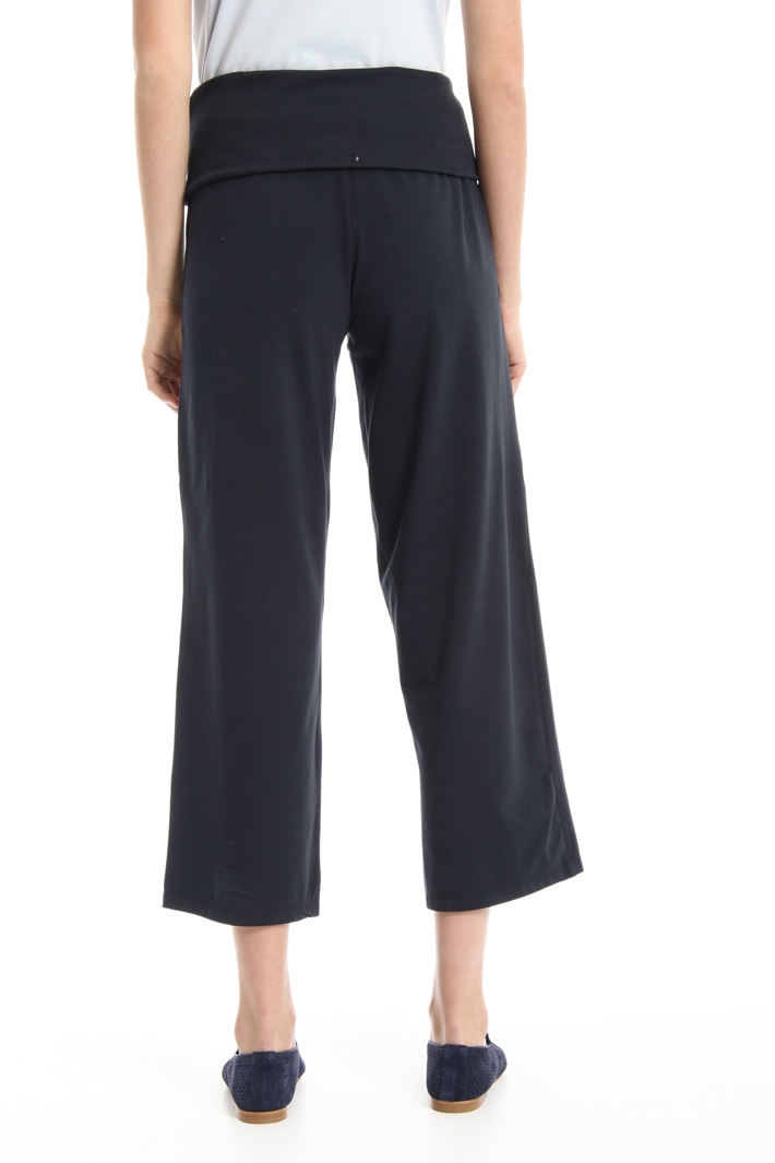 Folded waistband trousers Intrend