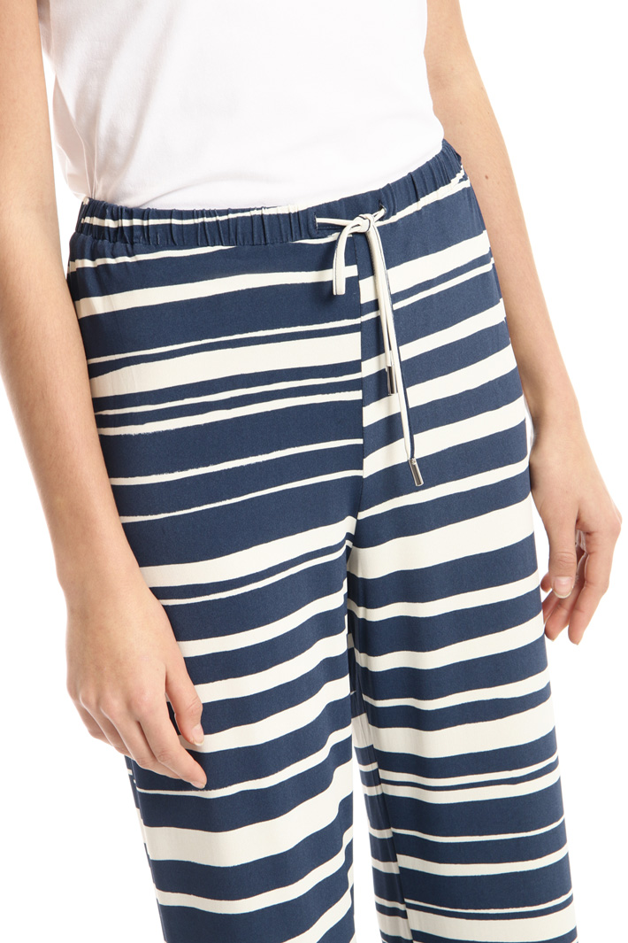 Palazzo jersey trousers Intrend