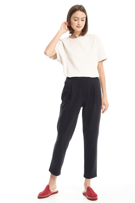 Cigarette jersey trousers Intrend
