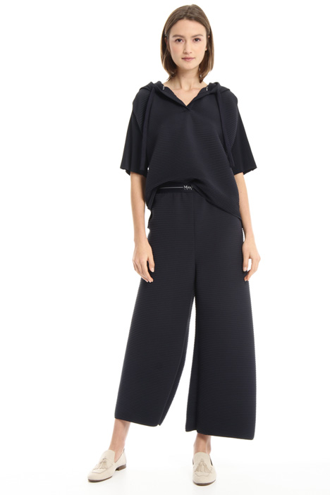Wide leg jersey trousers Intrend