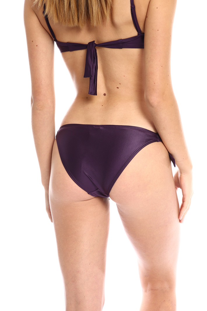 Lurex jersey bikini brief Intrend