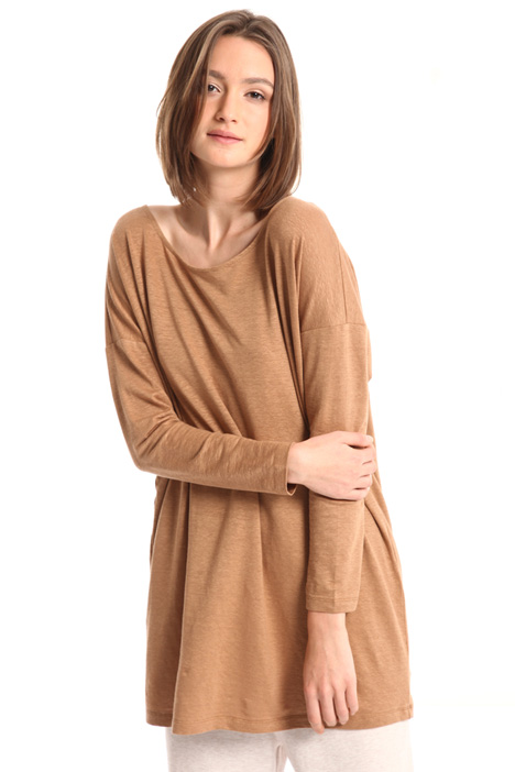 Oversized pure linen sweater Intrend