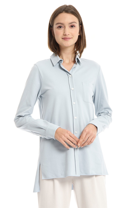 Cotton pique shirt Intrend