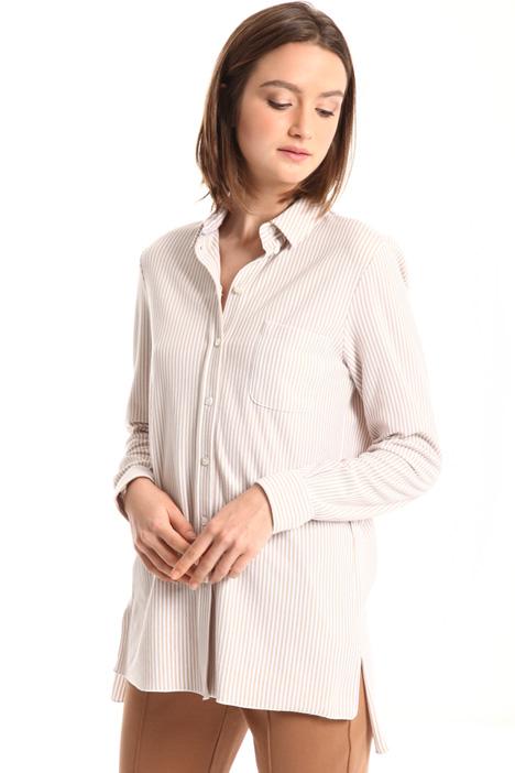 Cotton pique shirt Intrend
