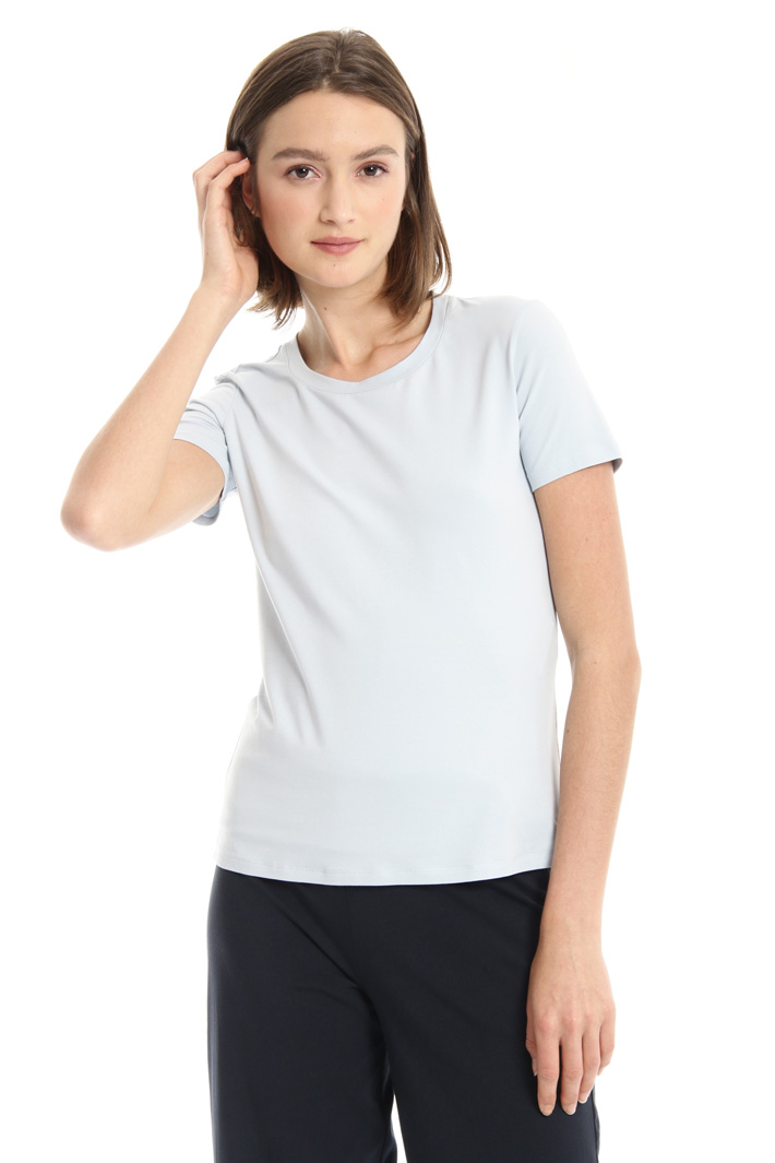 Semi-fitted cotton T-shirt Intrend
