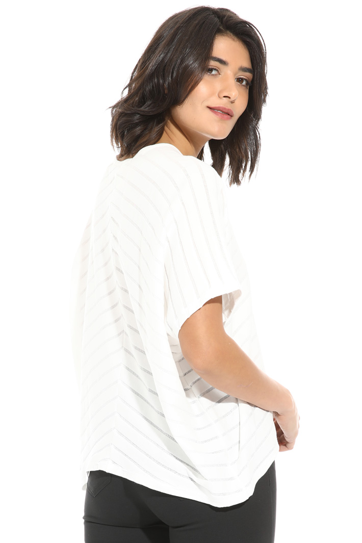 Crop sweater in cotton jersey Intrend