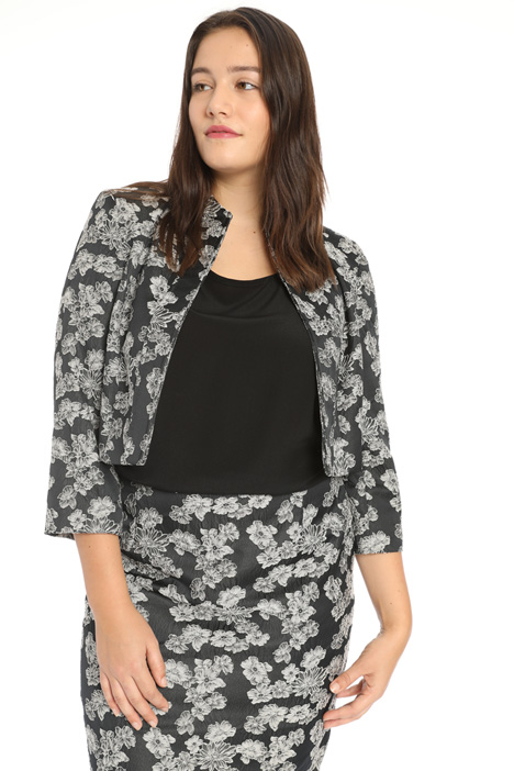 Stretch jacquard jacket Intrend
