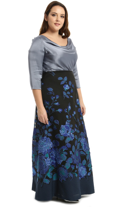 Long jacquard skirt Intrend