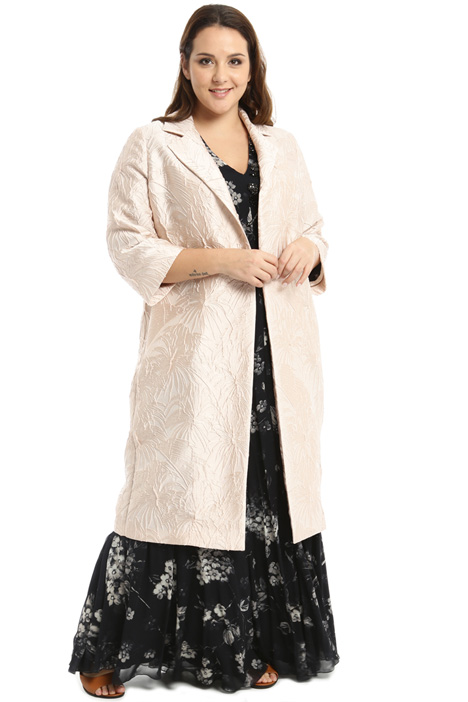 Jacquard overcoat Intrend