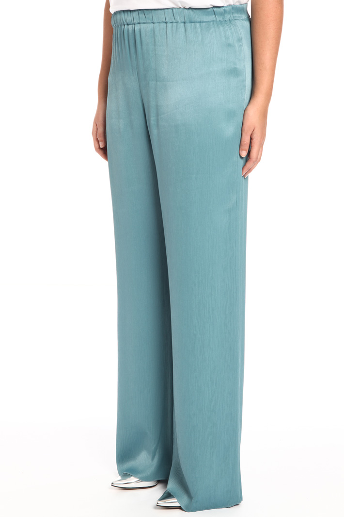 Crepon viscose trousers Intrend