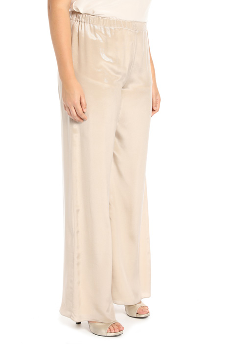 Silk trousers Intrend