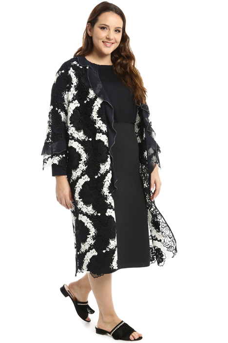 Lace duster coat Intrend