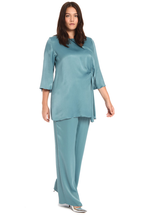 Crepon viscose tunic Intrend