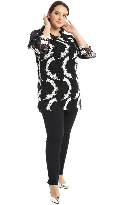 Macrame lace tunic Intrend