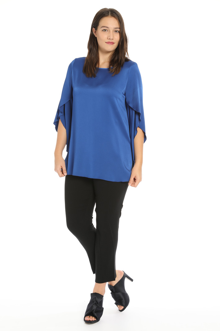 Viscose blend tunic Intrend