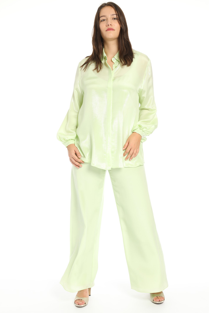 Lurex silk shirt Intrend