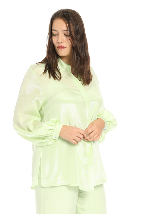 Lurex silk shirt Intrend