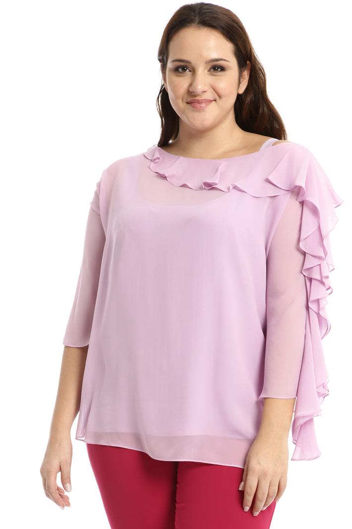 Silk georgette blouse Intrend