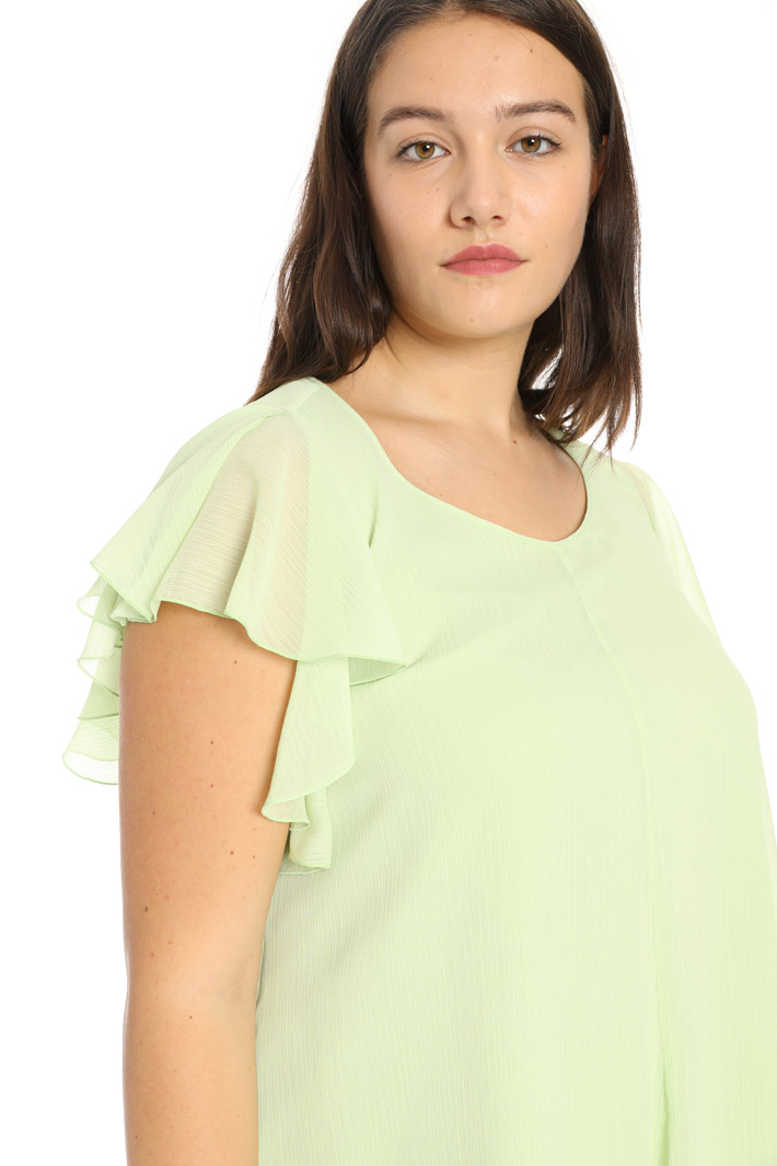 Draped top Intrend