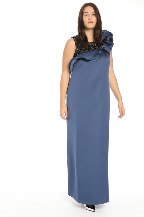 Long duchesse dress Intrend