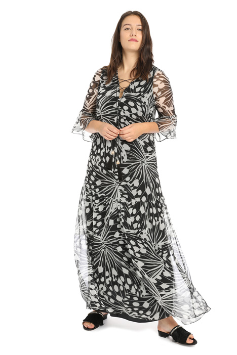 Silk georgette dress Intrend