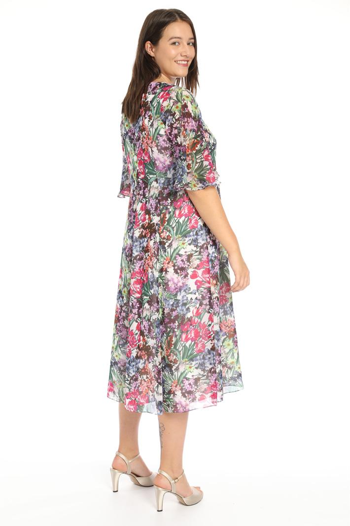 Printed chiffon dress Intrend