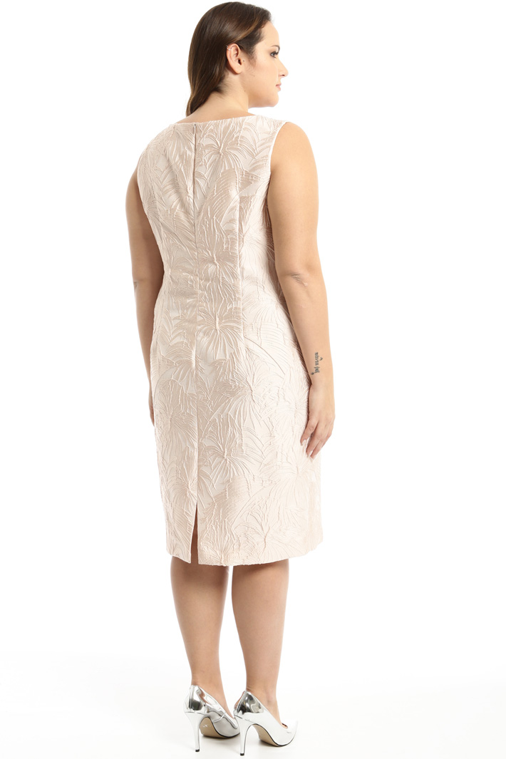 Fitted jacquard dress Intrend